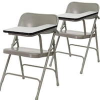 Pair of Folding Tablet Arm Chairs Dallas, 75249