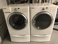 Front load washer and Gas Dryer. Great working condition. Arlington, 76017