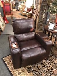 black leather recliner sofa chair Tulsa, 74105
