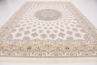 New ivory area rug size 5x8 nice ivory carpet Persian style rugs and carpets Burke, 22015