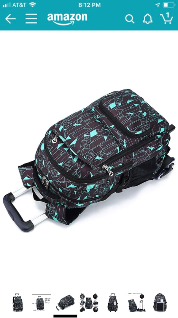 New Rolling backpack/luggage 6 wheels for staircases 29f914e0-4cbe-455a-bdb2-0d5bc98c3c59