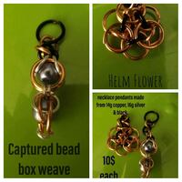 Handcrafted chainmaille jewelry & accessories.  Del City, 73115