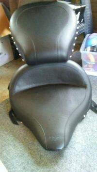 Black leather Harley Davidson seat  Greensburg, 15601
