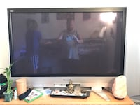 black flat screen TV with remote Gilbert, 85297