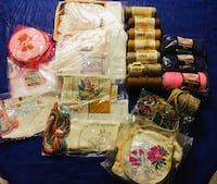 Assorted color of textile lot Vaughan, L6A 3N9