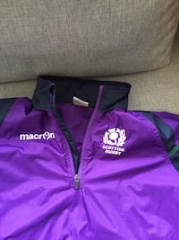 Scottish Rugby pullover training jacket Newmarket, L3Y 4P3
