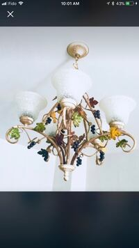Moving sale Beautiful unique Custom-made Chandelier excellent condition like new  Côte-Saint-Luc, H4W 1Z1