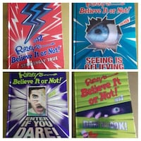 four Ripley's Believe or Not books collage Mexborough, S64 9JS