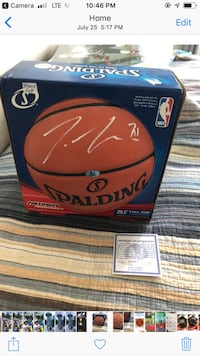 Signed Terence Ross basketball Markham, L6B 1L3