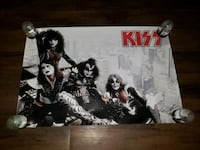 Vintage Kiss Poster