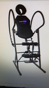 Black and gray inversion table Houston, 77002