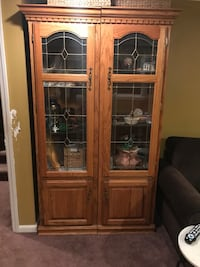 Solid wood cabinet with lights  Bay Shore, 11706