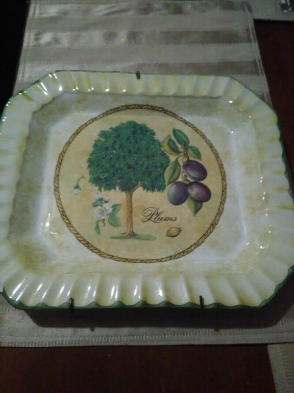 Plums Collection Plate
