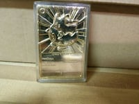 Gold plated pokemon card 956 mi