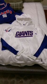 white and blue giants pullover jacket Ocean County, 08701