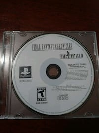 PS1 FINAL FANTASY GAMES San Jose