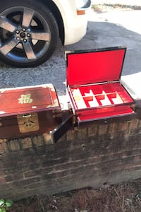 Vintage high end Asian jewelry boxes Beltsville, 20705