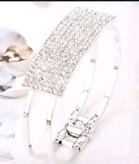 Silver diamond bangle Tuscaloosa, 35405