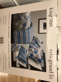 Brand new King size comforter set Laval, H7X 1H4