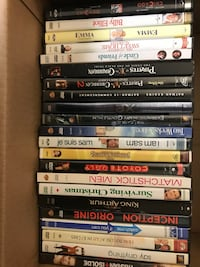 DVD movie selection