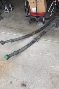 Chevy 63 leaf springs