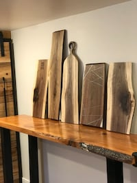 Live edge serving/cheese boards Mississauga, L5E