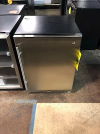 Brand new stainless steel built in refrigerator with 90 day warranty