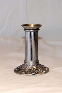 Seagull Pewter Candlestick