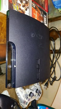 black Sony PS3 slim console Bakersfield, 93305