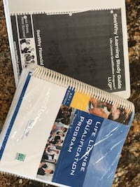two Life License Qualification Program and See Why Learning study guide books Hamilton, L8E 5A6