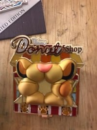 The donut shop Disney pin  Huntington Park, 90255