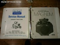 CUB CADET / 18 HP KOHLER MANUALS West Chester, 19382