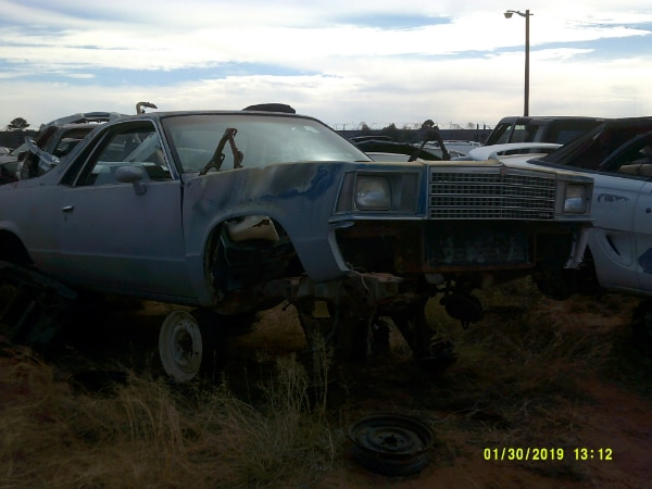 1979 Chevy El Camino Header Panel (PARTING OUT)