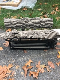 Gas fireplace log GAITHERSBURG