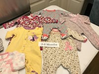 Baby girl clothes, 83 pieces, size 3-6 months Norco, 92860