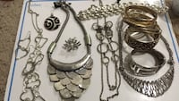 assorted stainless steel jewelries lot Hampton, 23669