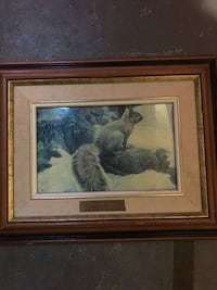 Robert Bateman gray squirrel Barrie, L4N 9L1