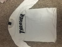 white long sleeve size small thrasher  Waterloo, N2L