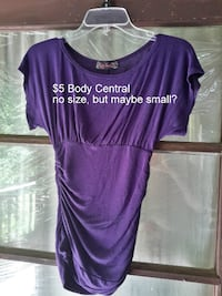 Body Central purple top Martinsburg, WV, USA