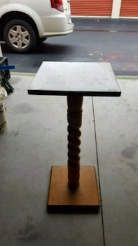 """Marble Top 12"""" × 12"""" x 28 tall New Bedford, 02745"""