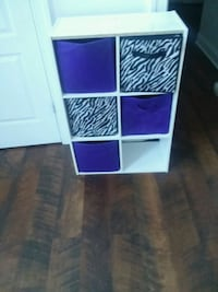 purple and white wooden cabinet Suffolk, 23434