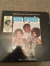 Cool Breeze Original Soundtrack Music by Solomon Burke Original Sealed Record - never opened or played Roseland, 07068