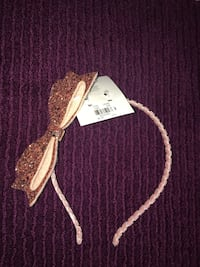 Rose gold headband from Justice (brand new with tag) Vienna, 22182