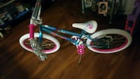 toddler's blue and pink bicycle 2340 mi
