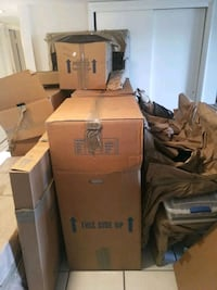 PACKING PAPER, WARDROBE BOXES, MED BOXES FOR $25 St. Petersburg, 33716