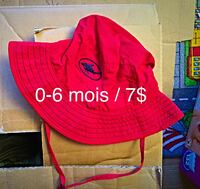 red and blue fish print bucket hat Longueuil, J3Y 9H1
