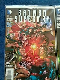 The New 52 Batman Superman comics and Justice leag