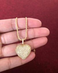 Heart necklace  New York, 11214