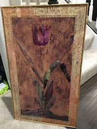 Beautiful vintage long flower painting Boyds, 20841