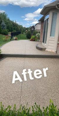 Sealing decorative concrete Sterling Heights